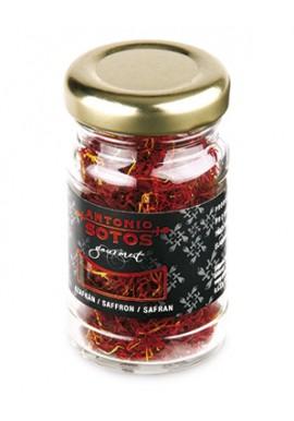 Azafrán Tarro Cristal 3 gramos