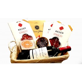 Pack Gourmet Top Vino - Embutidos - Queso