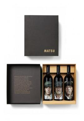 Estuche 3 Vinos Matsu
