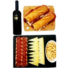 Menú Picoteo con Bot. de Vino