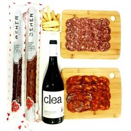 Ibéricos de Bellota + Vino