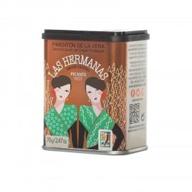 Pimenton de La Vera D.O.P Picante 70 gr Las Hermanas
