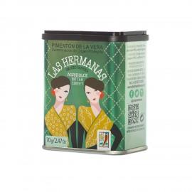 Pimenton de La Vera D.O.P Agridulce 70 gr Las Hermanas